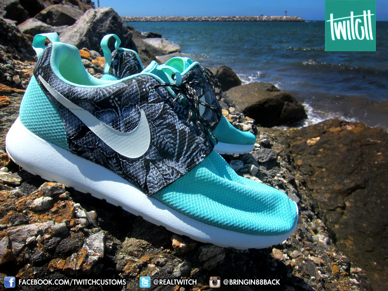 timeless design c4dbd 0a744 Aloha Nike Roshe Run